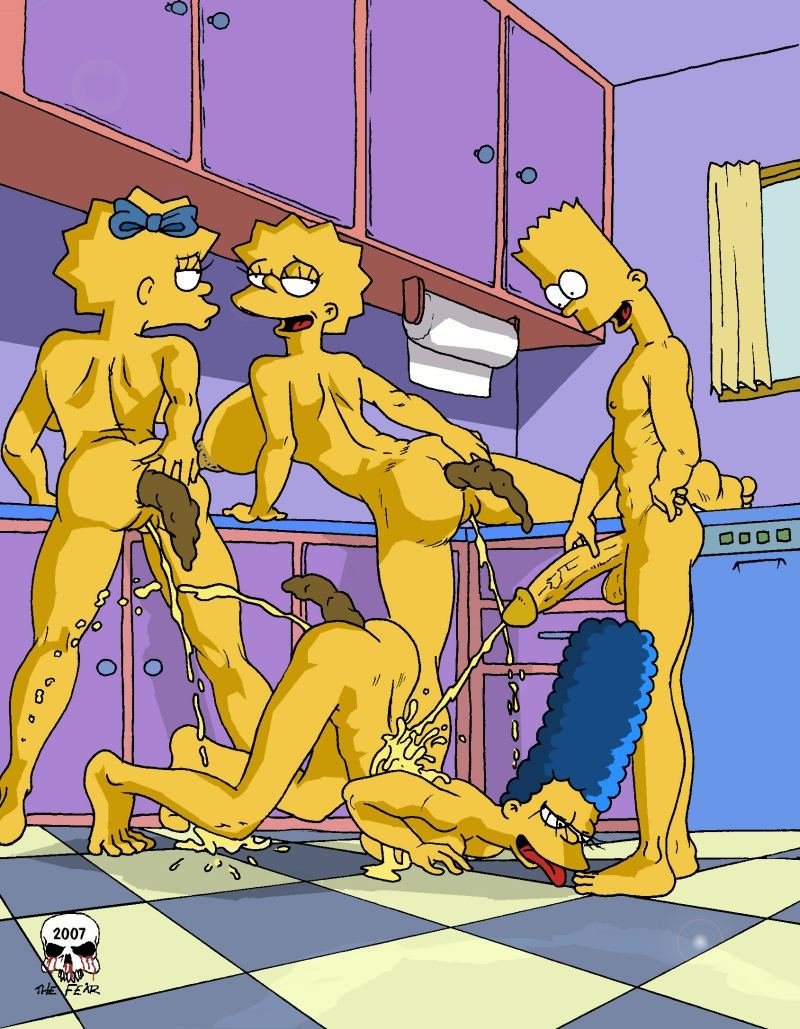 Marge simpson porn fear comics