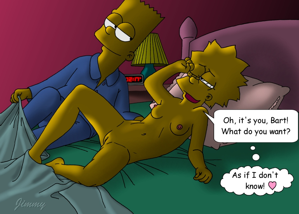 Can Bart and lisa simpson hentai comic congratulate, this