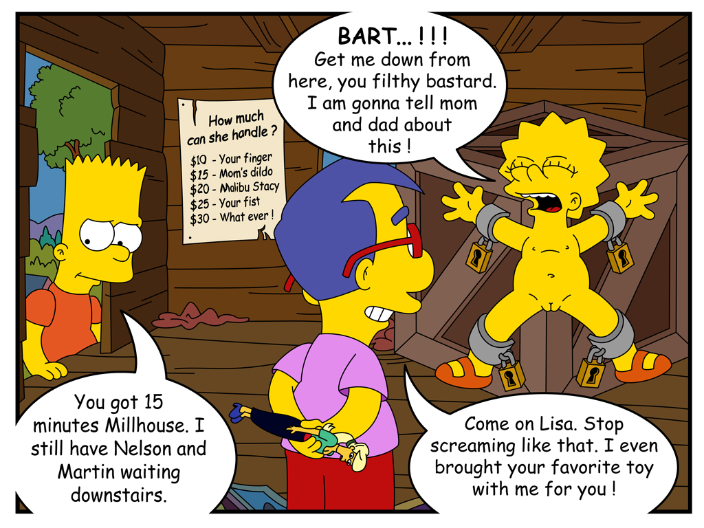 bart and milhouse fuck lisa