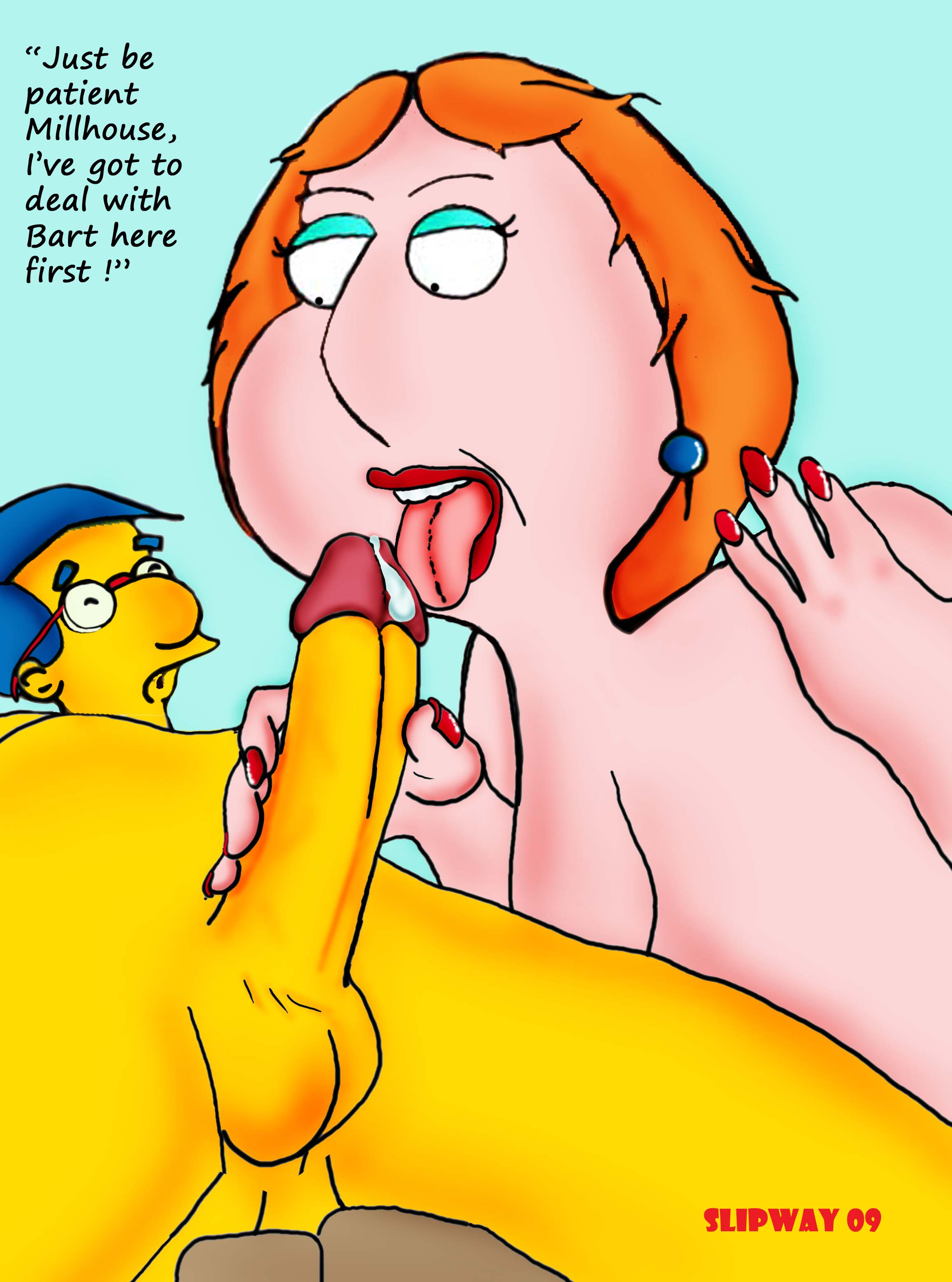 #pic313070: Bart Simpson - Family Guy - Lois Griffin ...