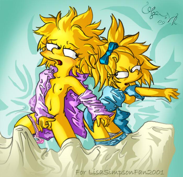 Simpsons maggie nackt die Marge Simpson