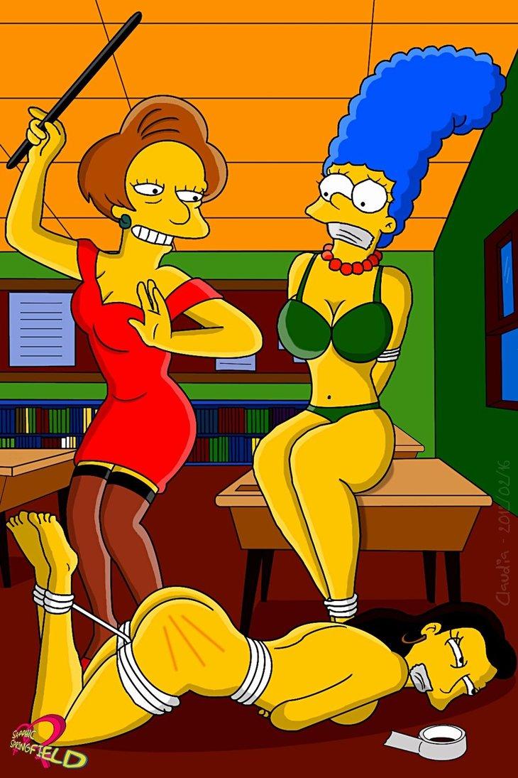 Симпсоны миссис крабапл порно 3 фотография