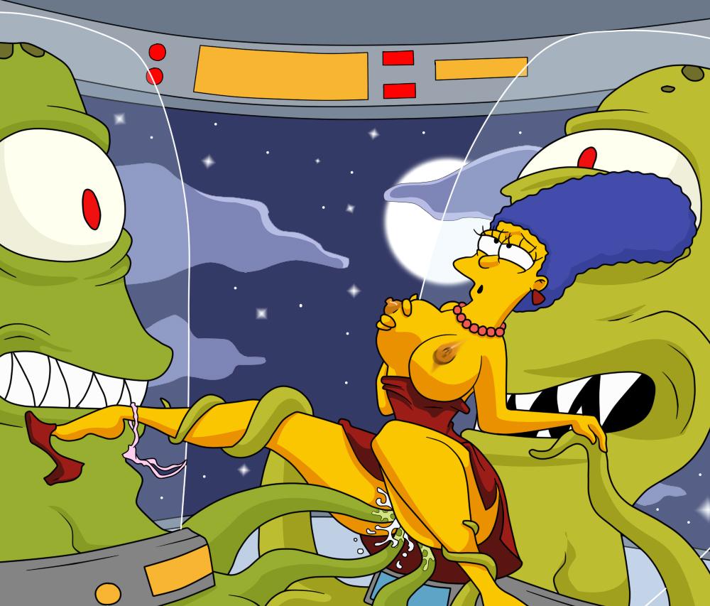 Marge simpson kang kodos porn