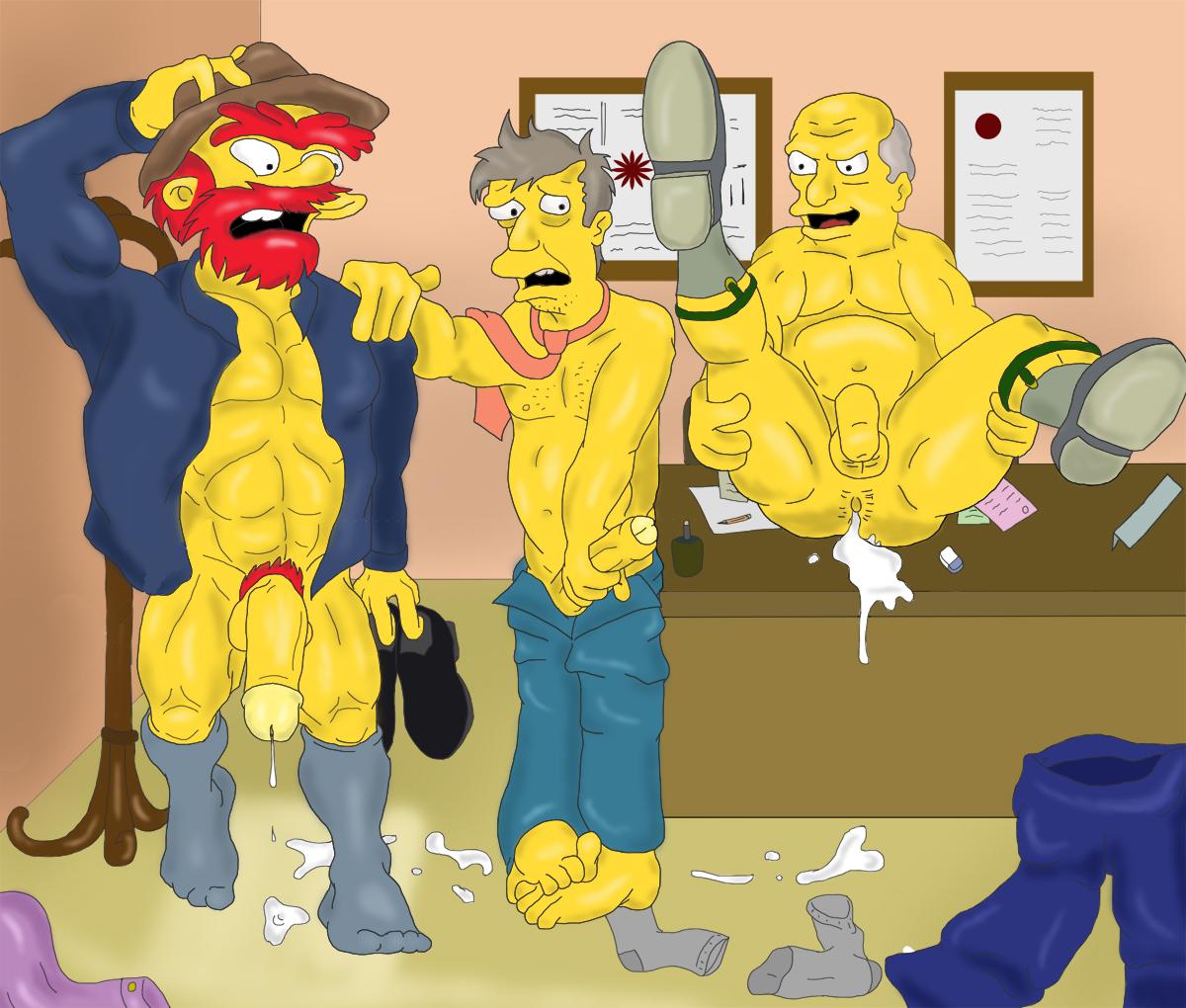 gay willie porn Simpson