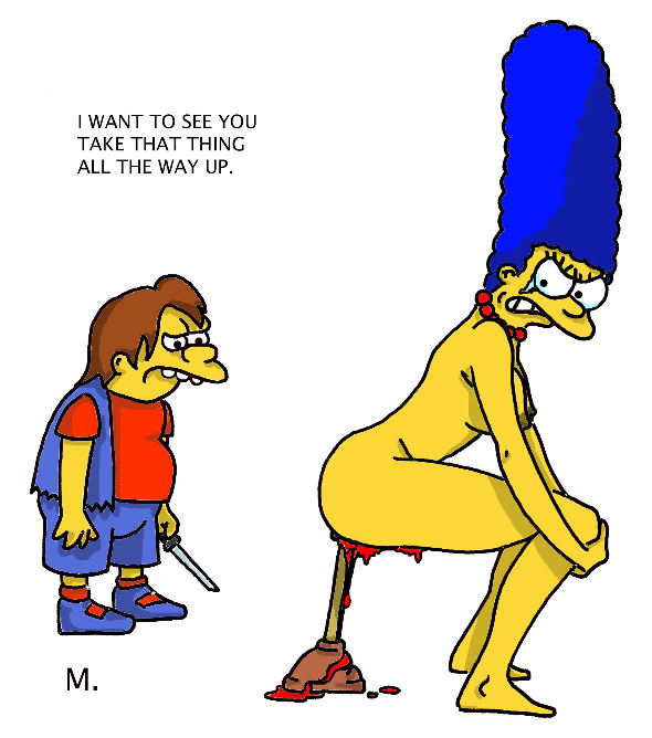 marge and nelson naked