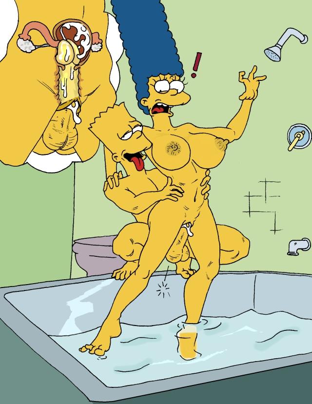 Симпсоны барт и мардж порно фото 74275 фотография