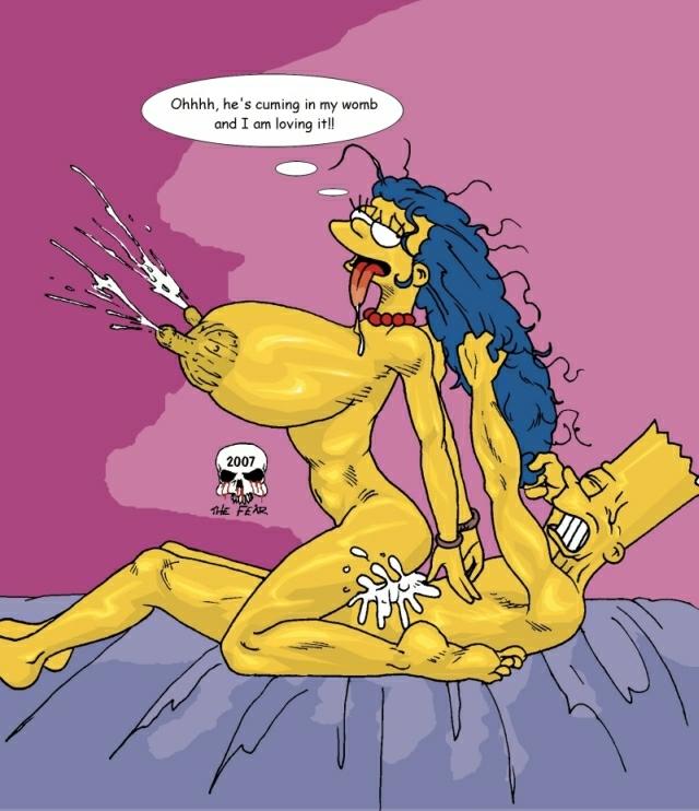 Секс комикс барт симпсоны 3 фотография