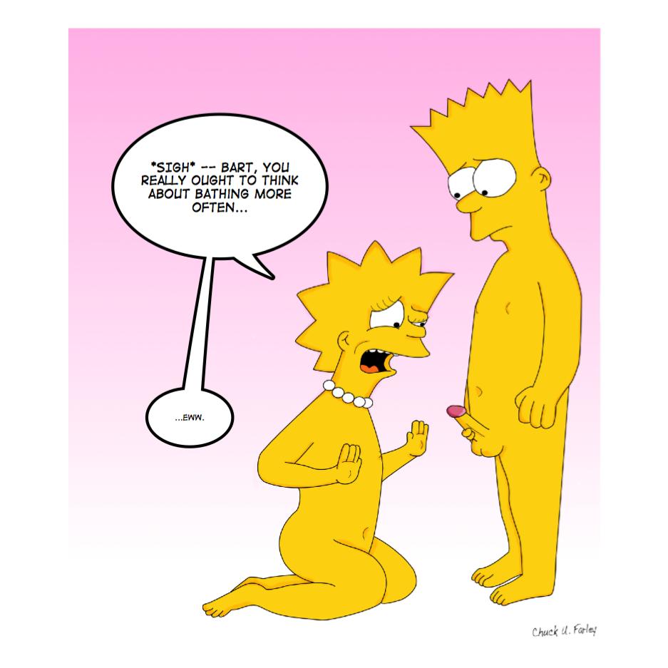 Bart an lisa porn