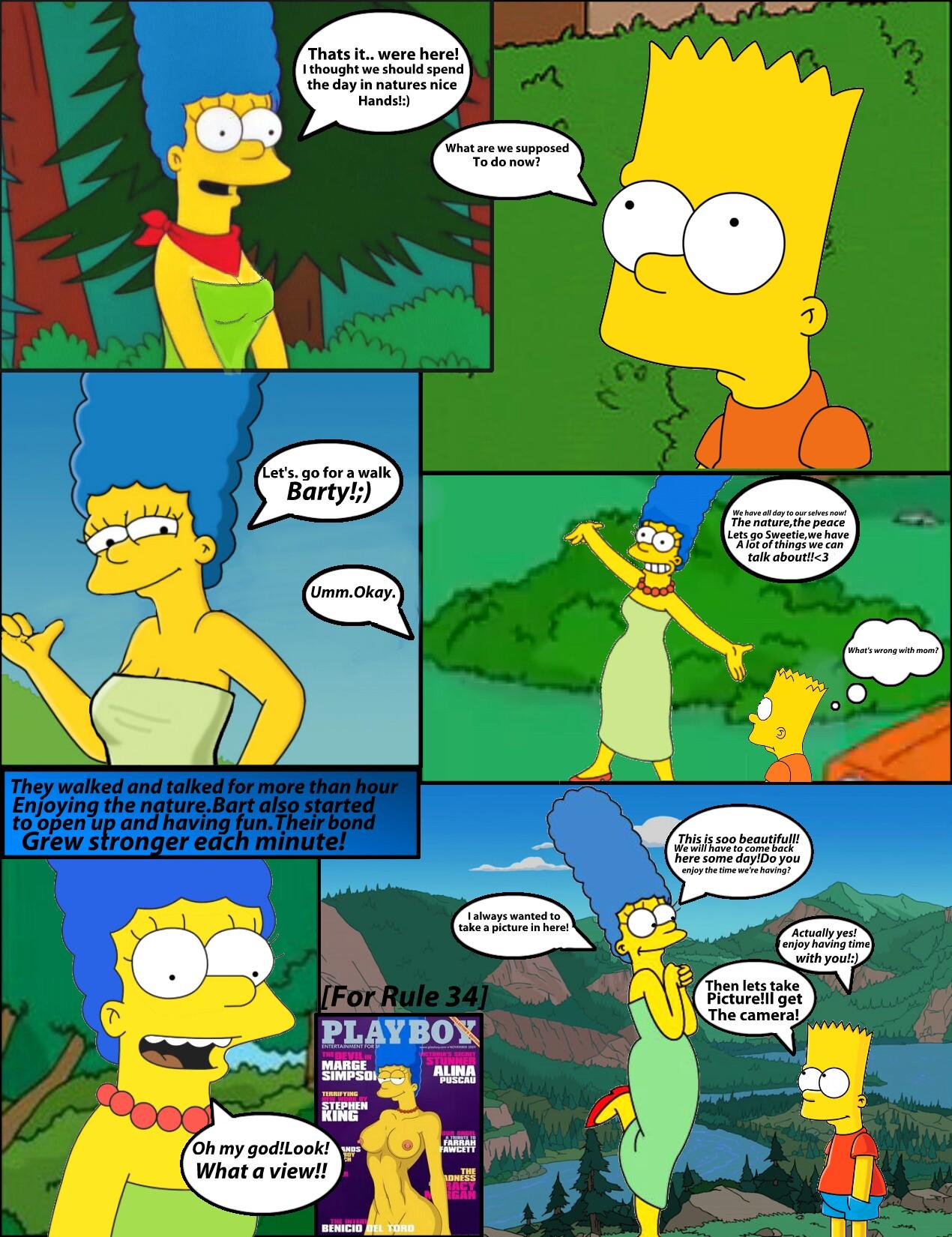 Porn comic simpson Simpsons porn
