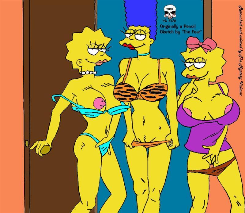 lisa simpson naked piss № 76961