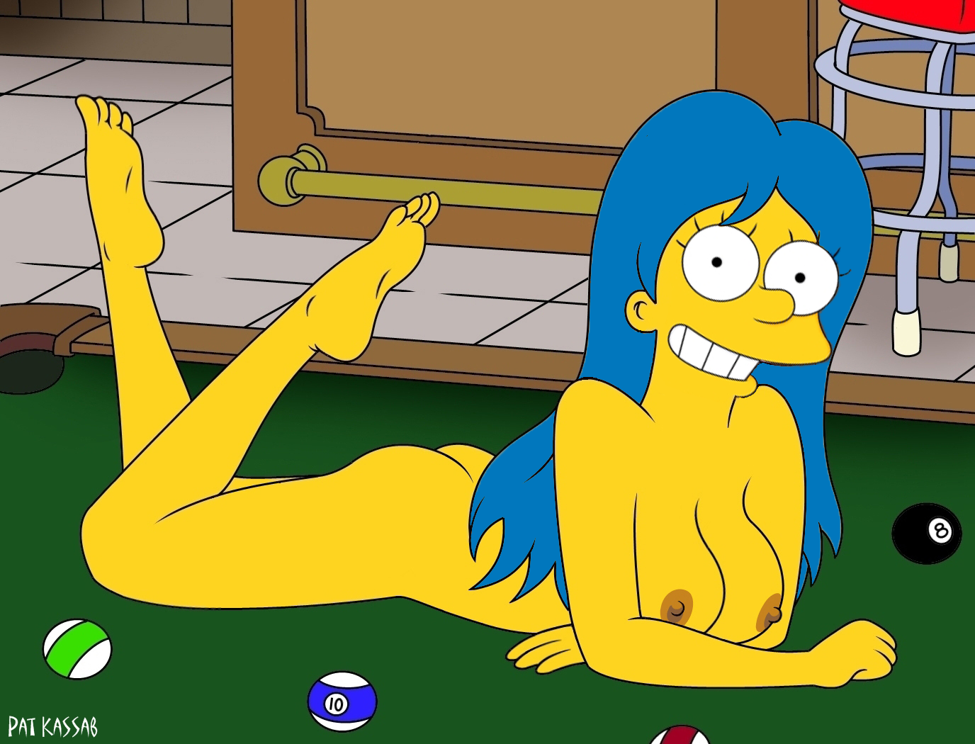 Naked simpson cartoons