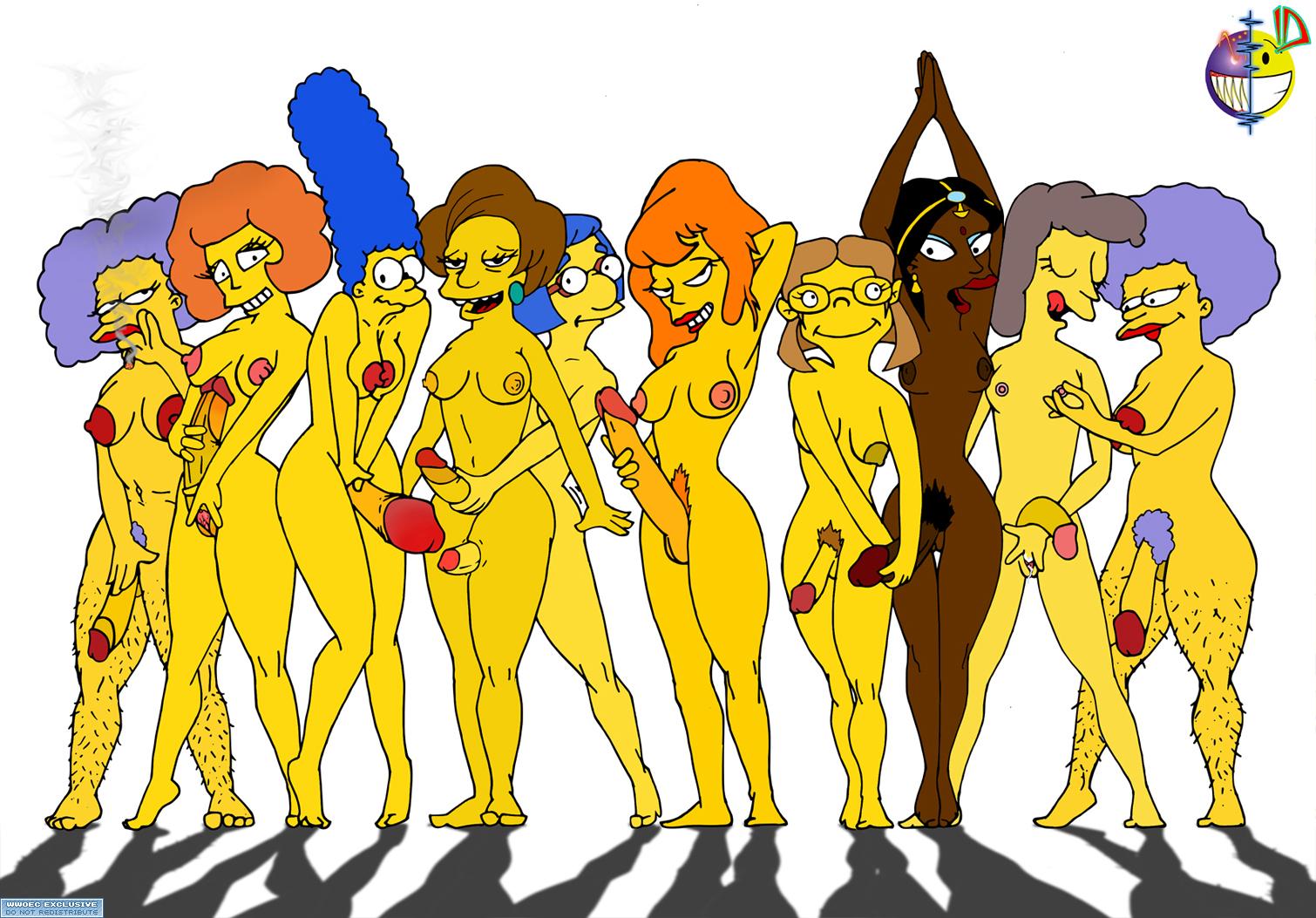 Симпсоны эротика пэтти исельма фото 19 фотография