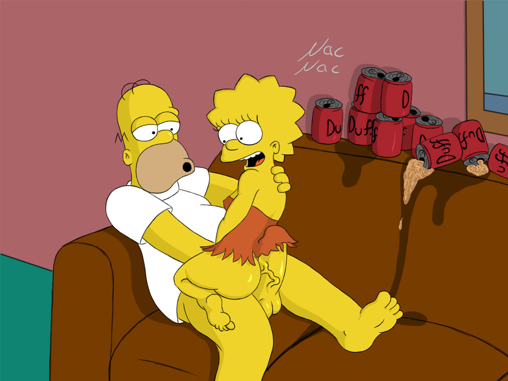 pussy as homer simpson