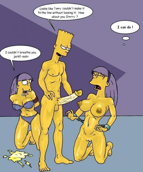Bart Y Sherri Porno