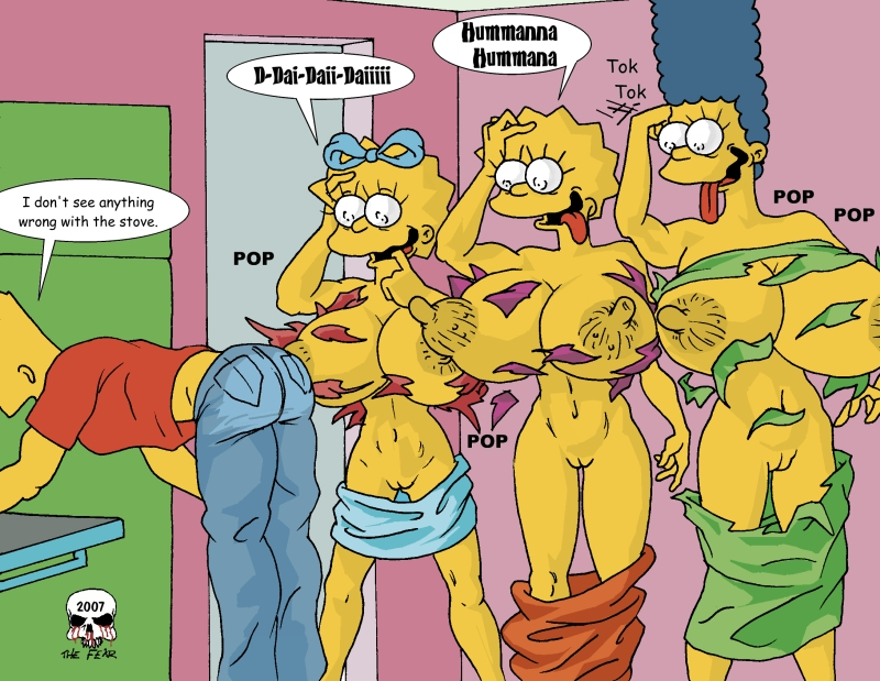 the simpsons marge big tits