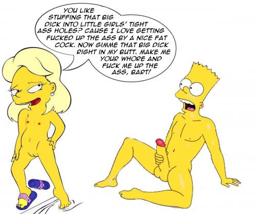 Greta out the simpsons porn — 12