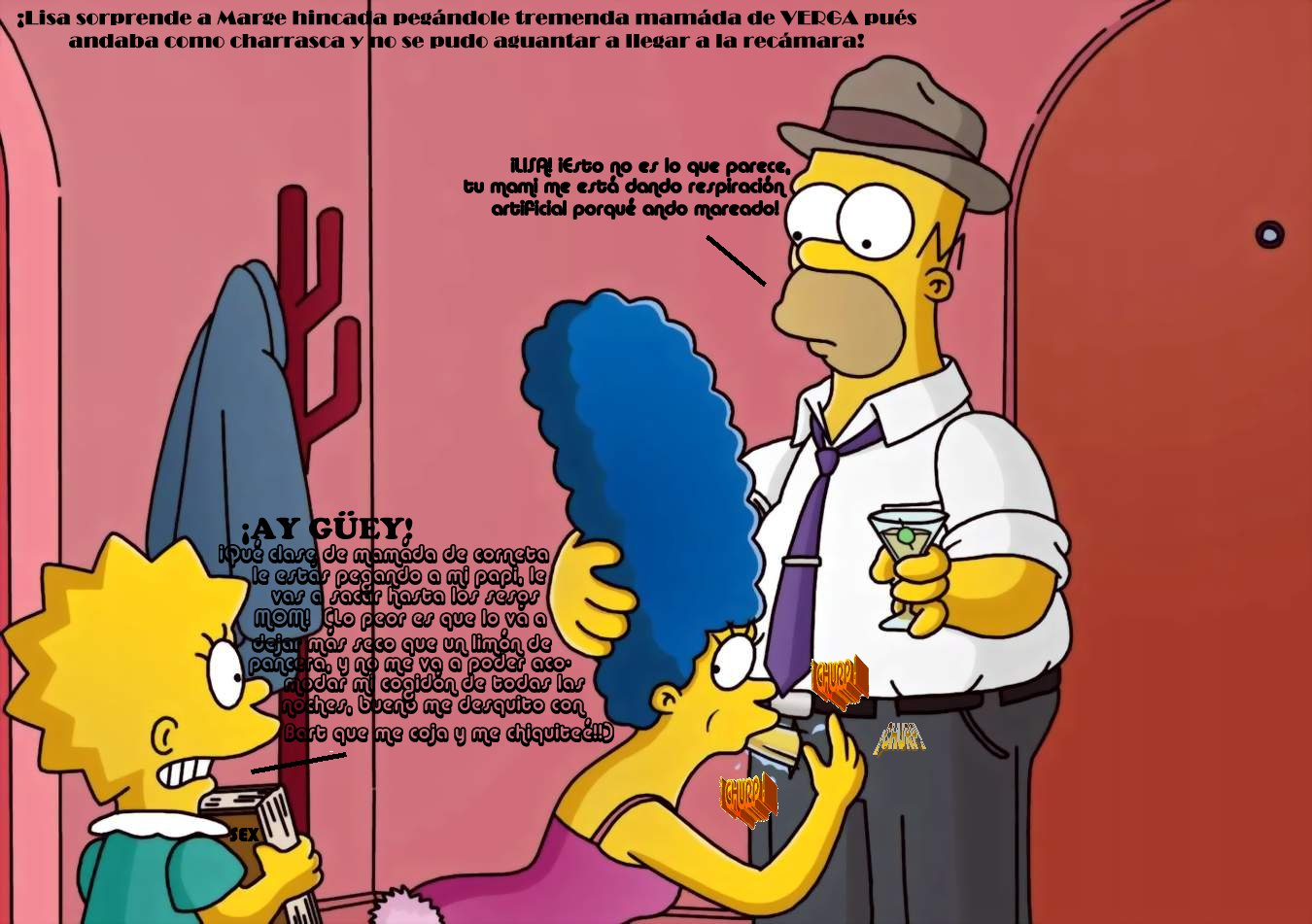 Lisa naked the simpsons