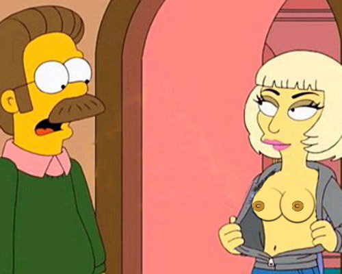 Criticising advise The simpsons lady gaga porn apologise, but
