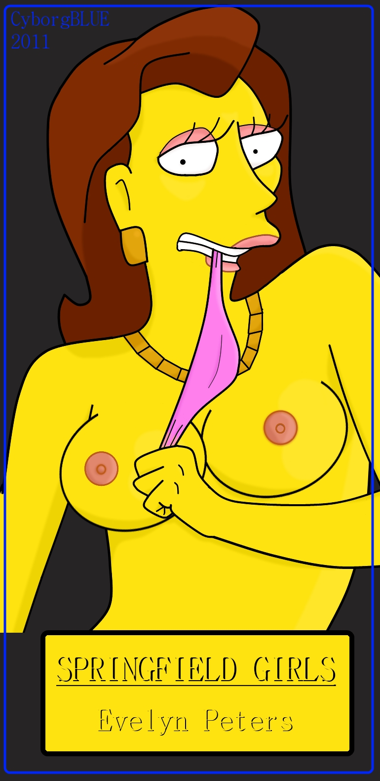 shauna of the simpsons porn