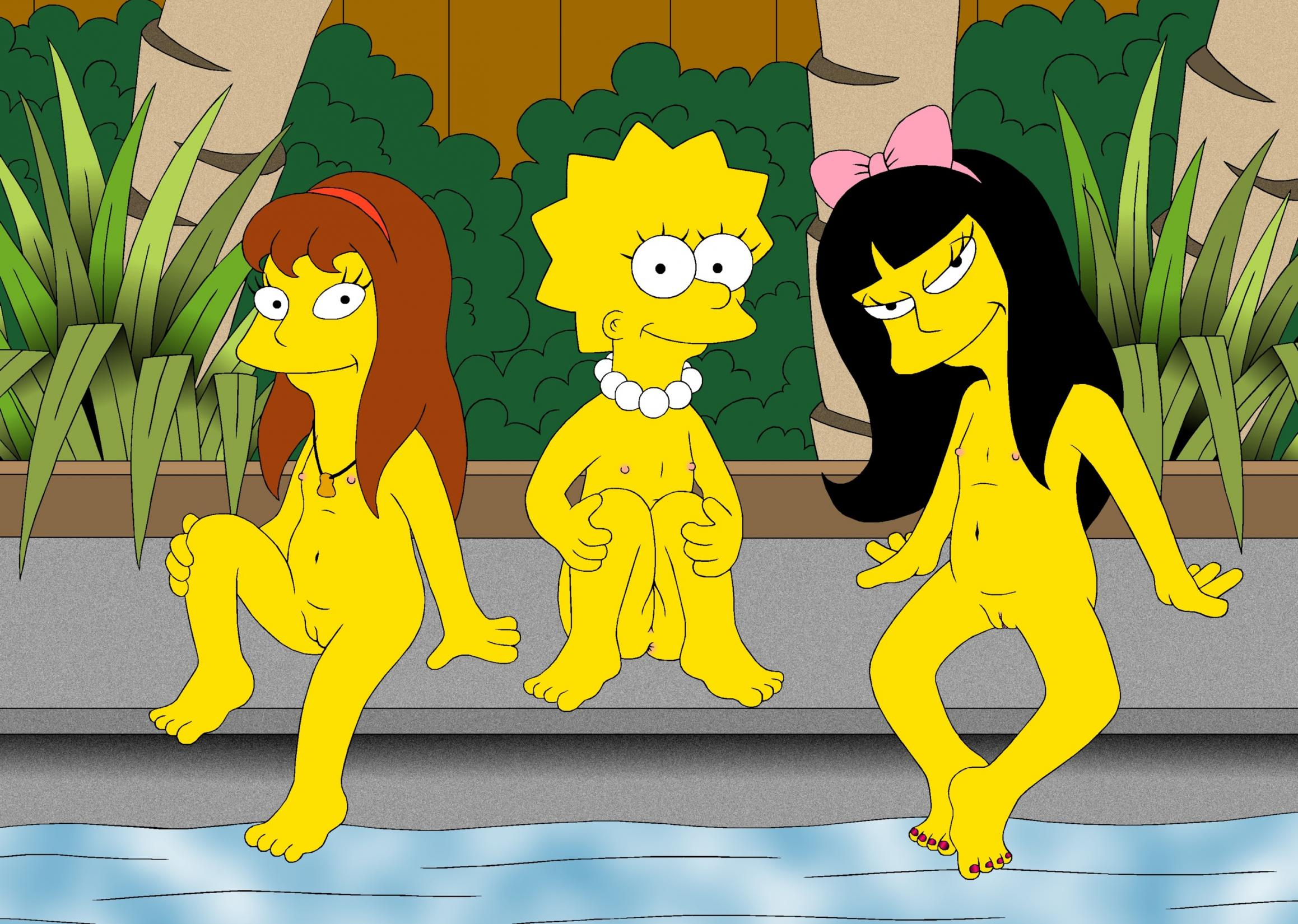 Recommend The simpsons allison and lisa porn final