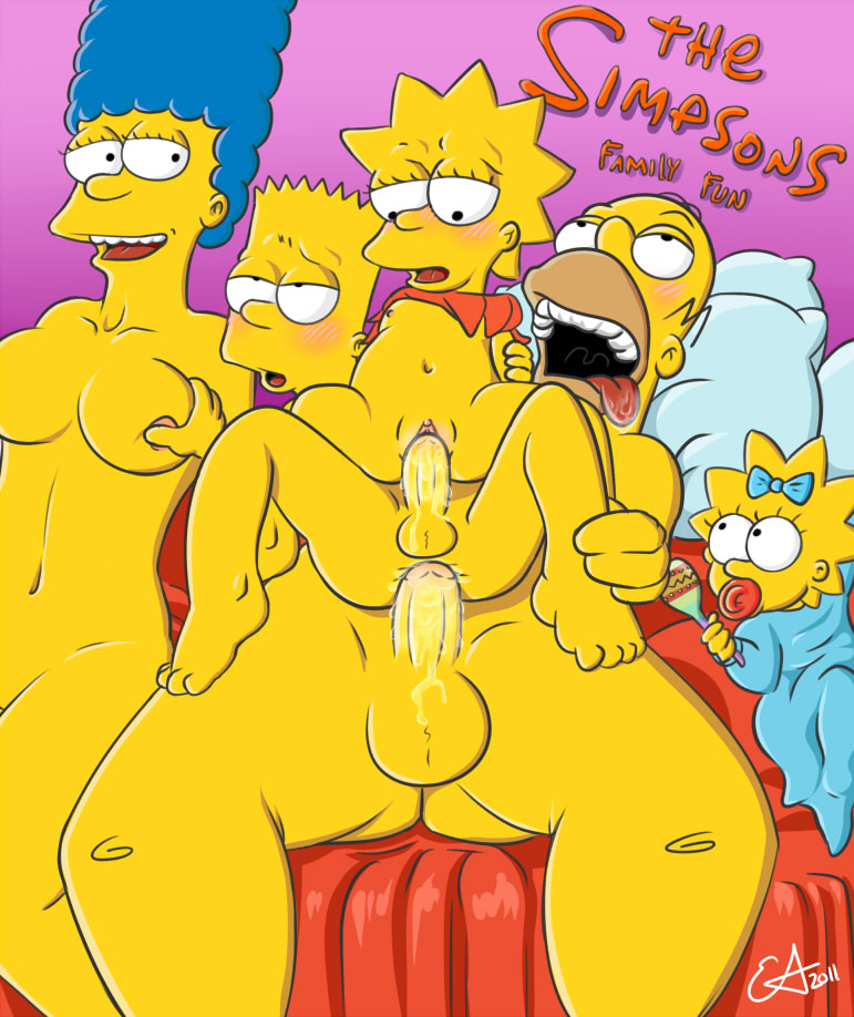 maggie and bart simpson comic porn