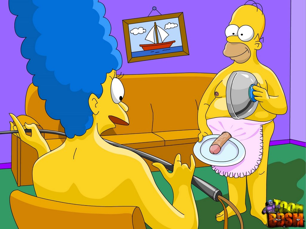 Bondage marge simpson The Simpsons