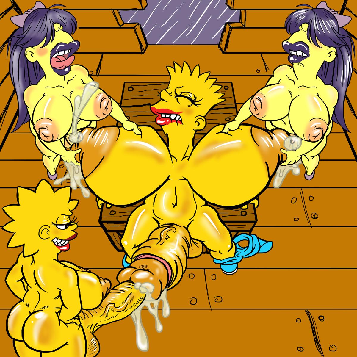 Симпсоны картинки лиза и барт секс 21 фотография