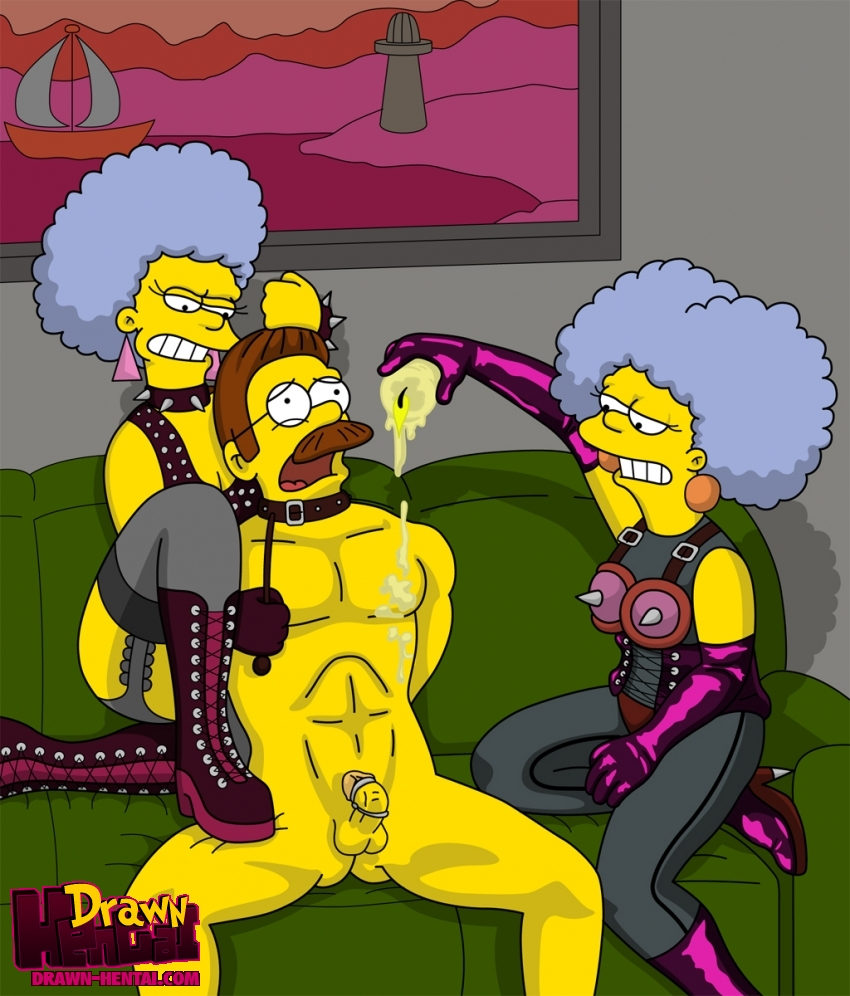 patty and selma bouvier porn