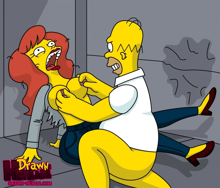 Drawn Hentai Homer Simpson Mindy Simmons The Simpsons