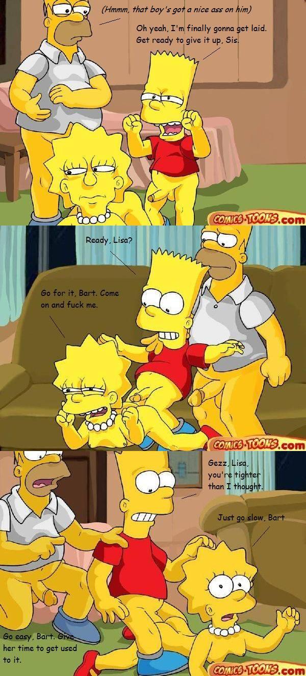 Simpsons porn comic