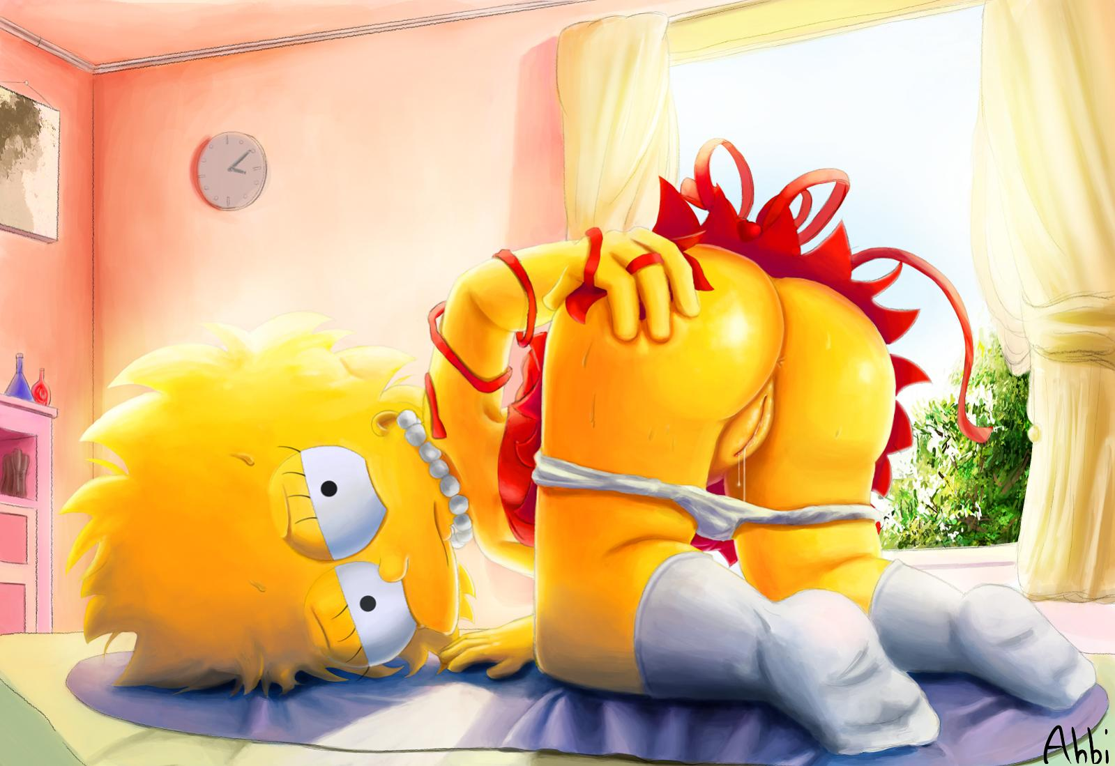 Nackt und bart simpsons lisa The Simpsons:
