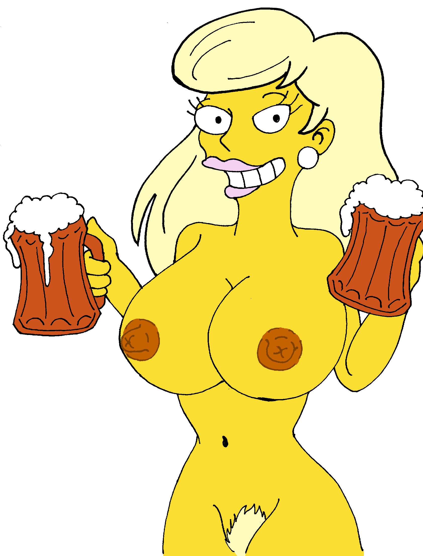 girls The nude simpsons