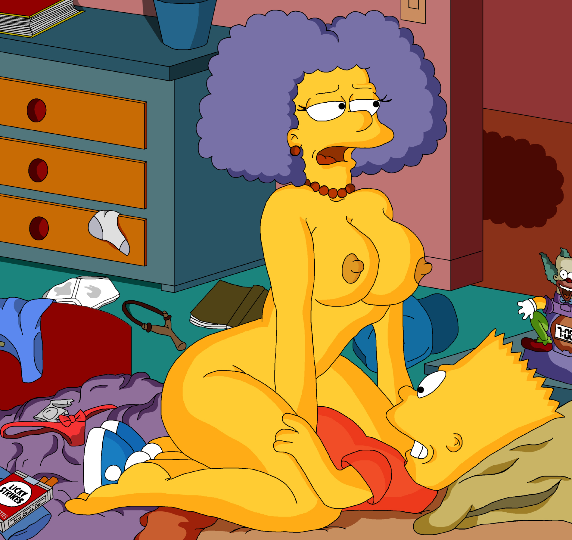 Backbreaker, which The simpsons sex and porno