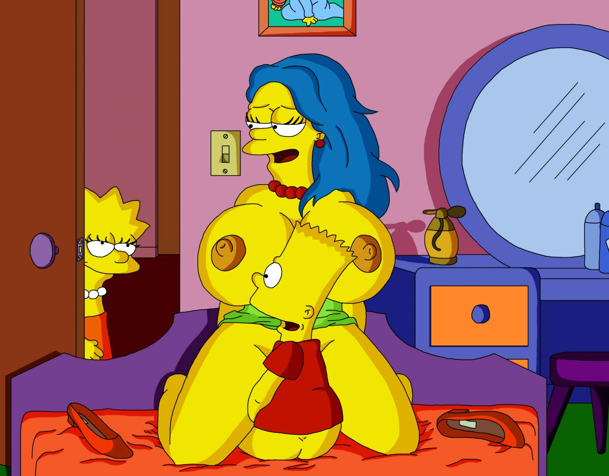 Simpsons and sex marge the bart