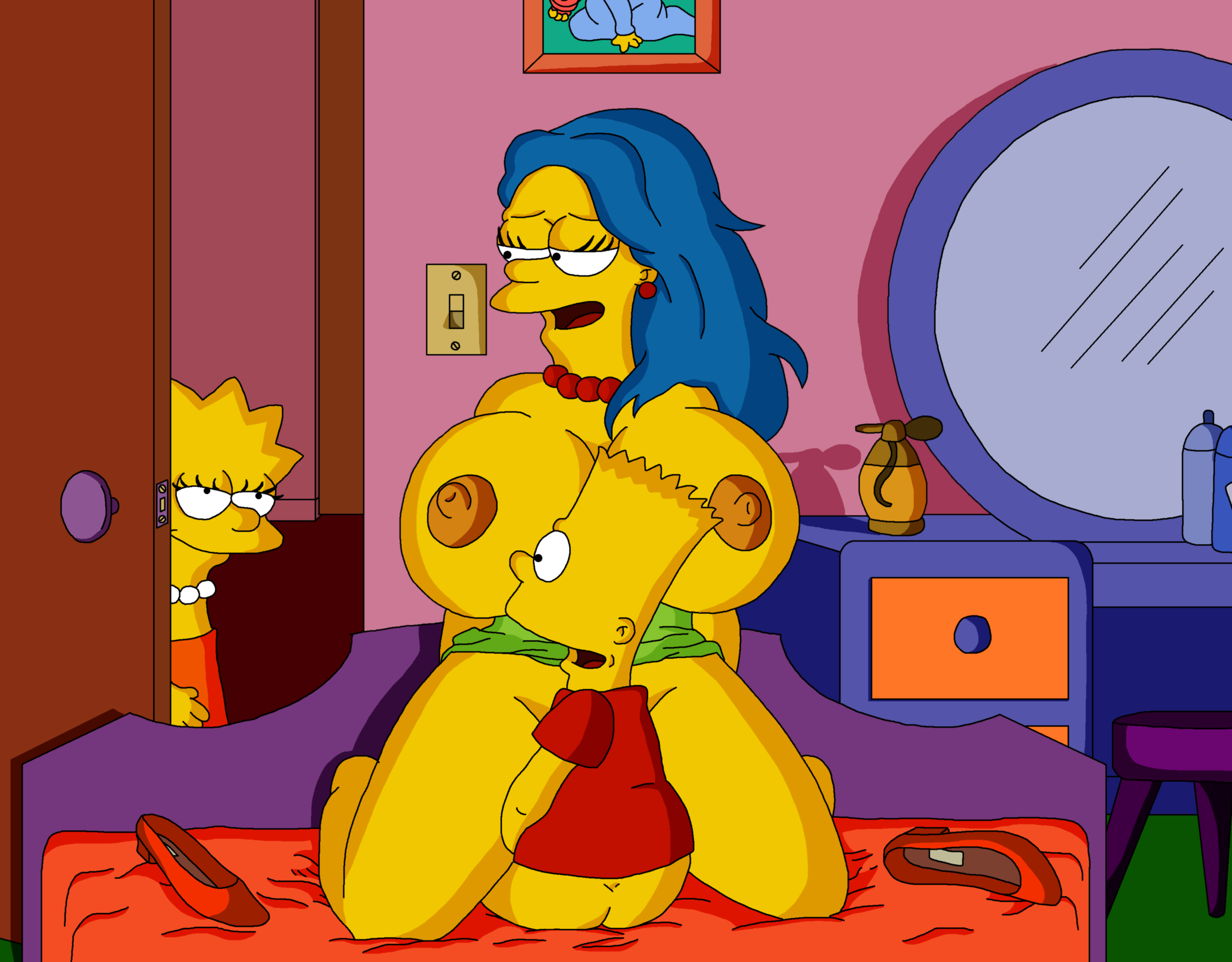 Simpsons lisa fucks black cock hentai movies