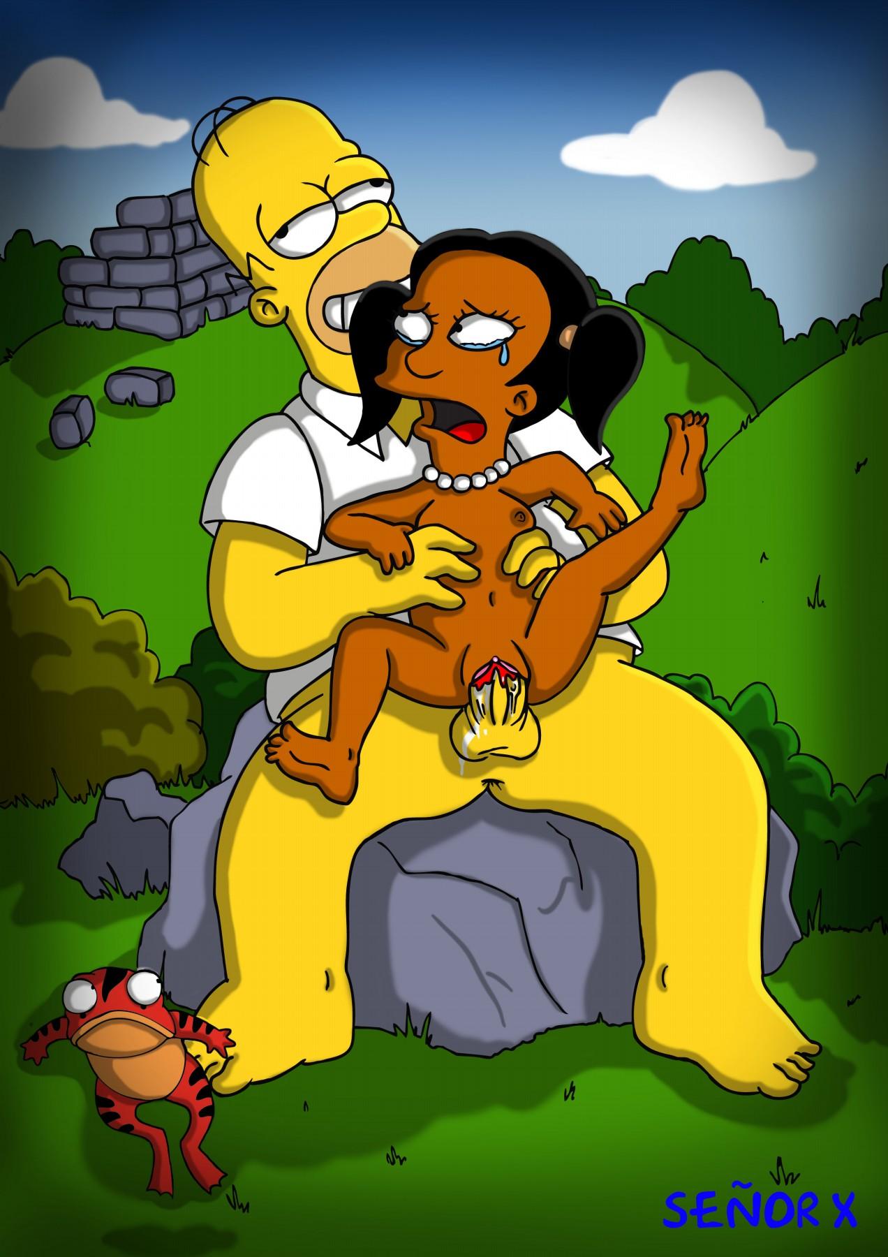 Homer and lisa hentai