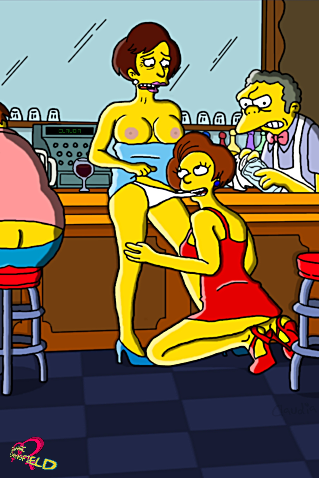 Симпсоны эдна хентай 24 фотография
