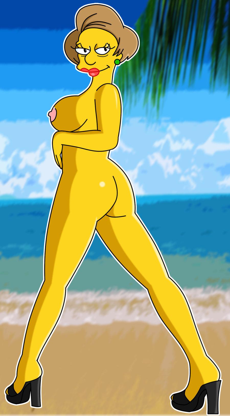 Симпсоны мисис крабапл порно 9 фотография