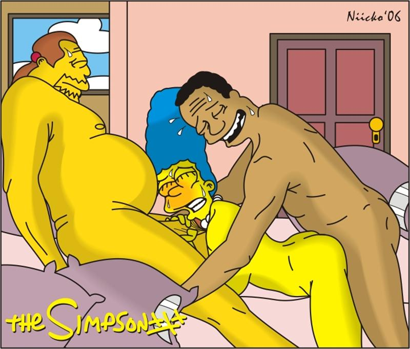 Simpsons comic book porn