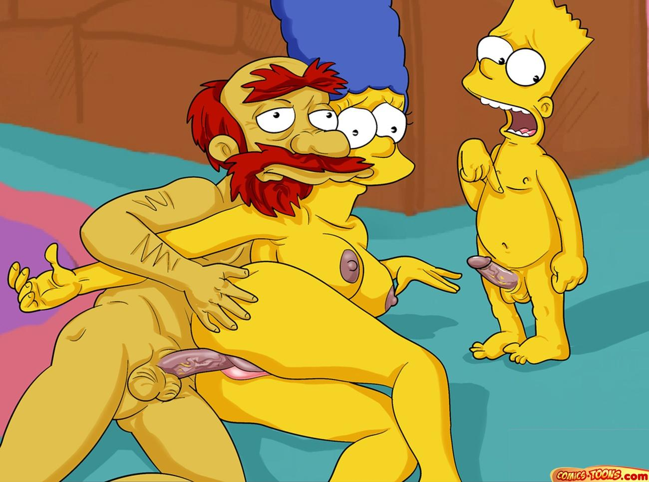 The simpsons sex and porno
