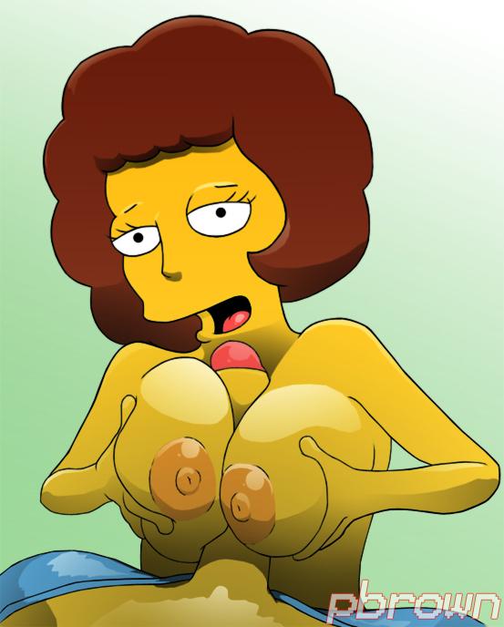 naked Maude flanders