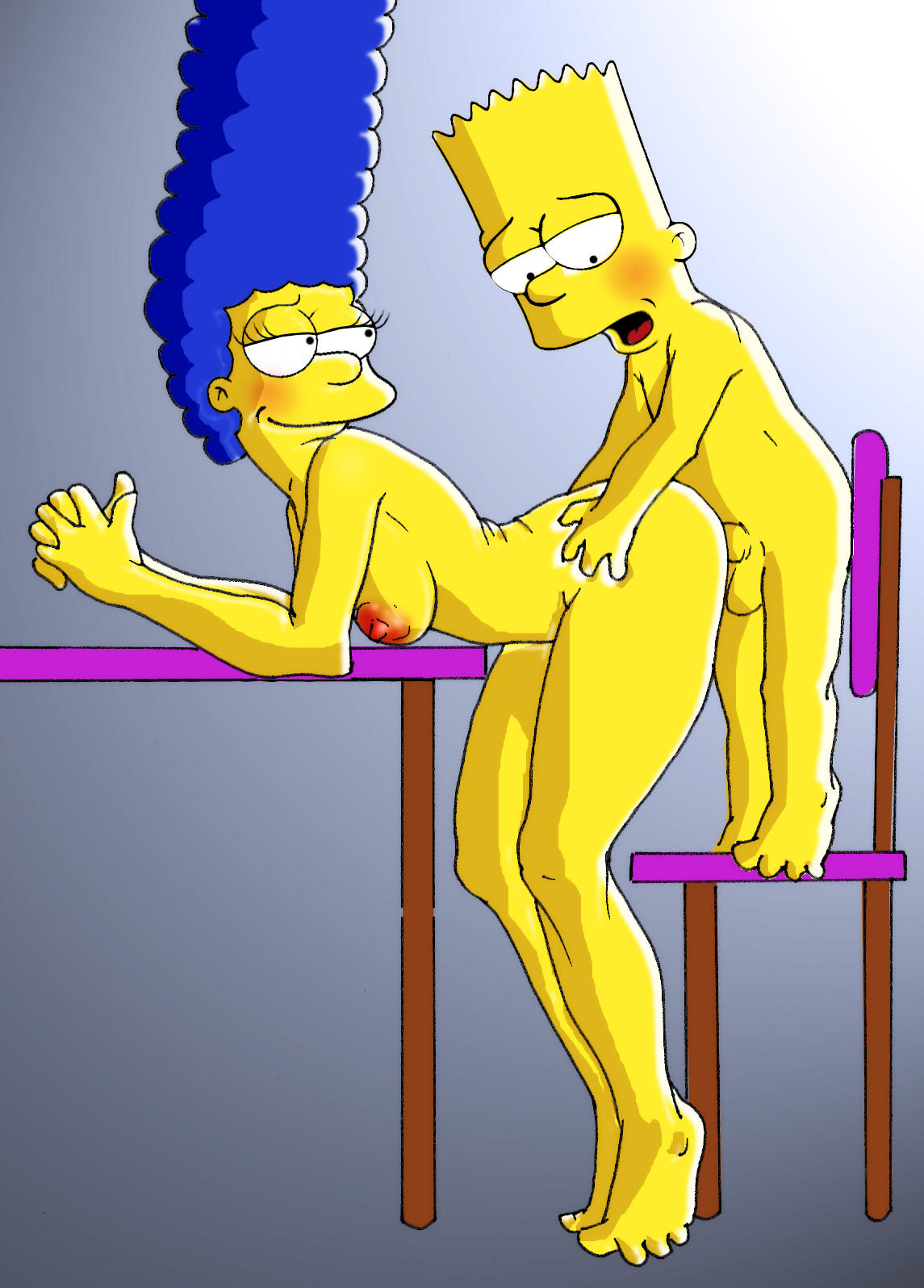 Animated Porn Gif Lisa Simpsons marge simpson anal fucked - sex photo