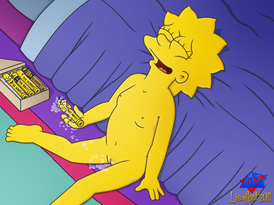 Lisa simpsons masturbate — pic 8