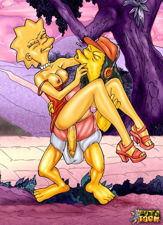 Futa Lisa Simpson Cartoon Porn