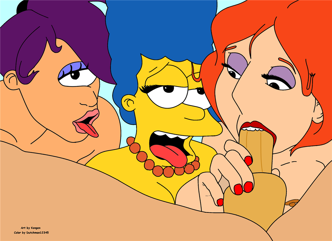 Lois Griffin And Marge Simpson Porn