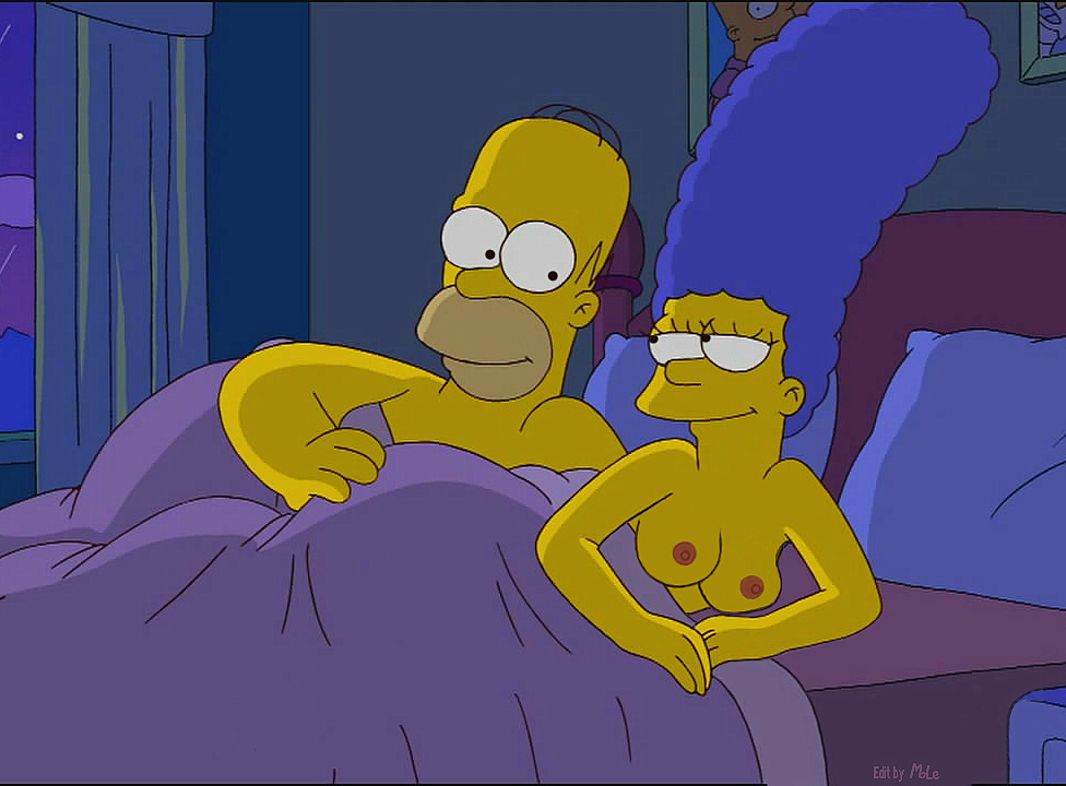 Homero y Marge XXX Video 100 Gratis - Los Simpson XXX