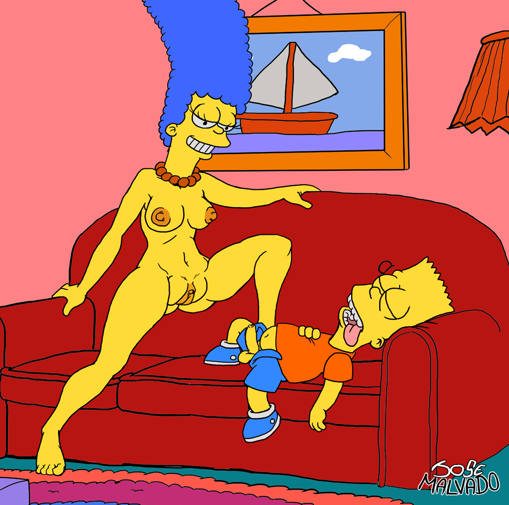 Fetish foot marge simpson