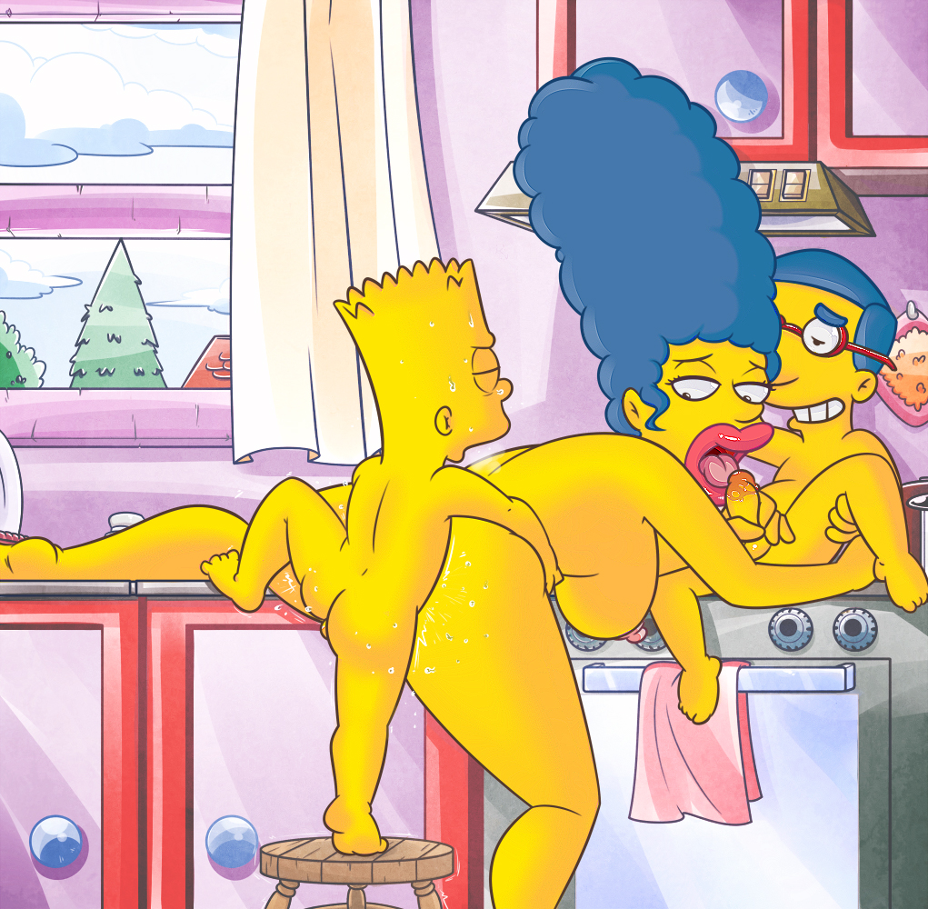 Something is. The simpsons marge and teacher porn accept