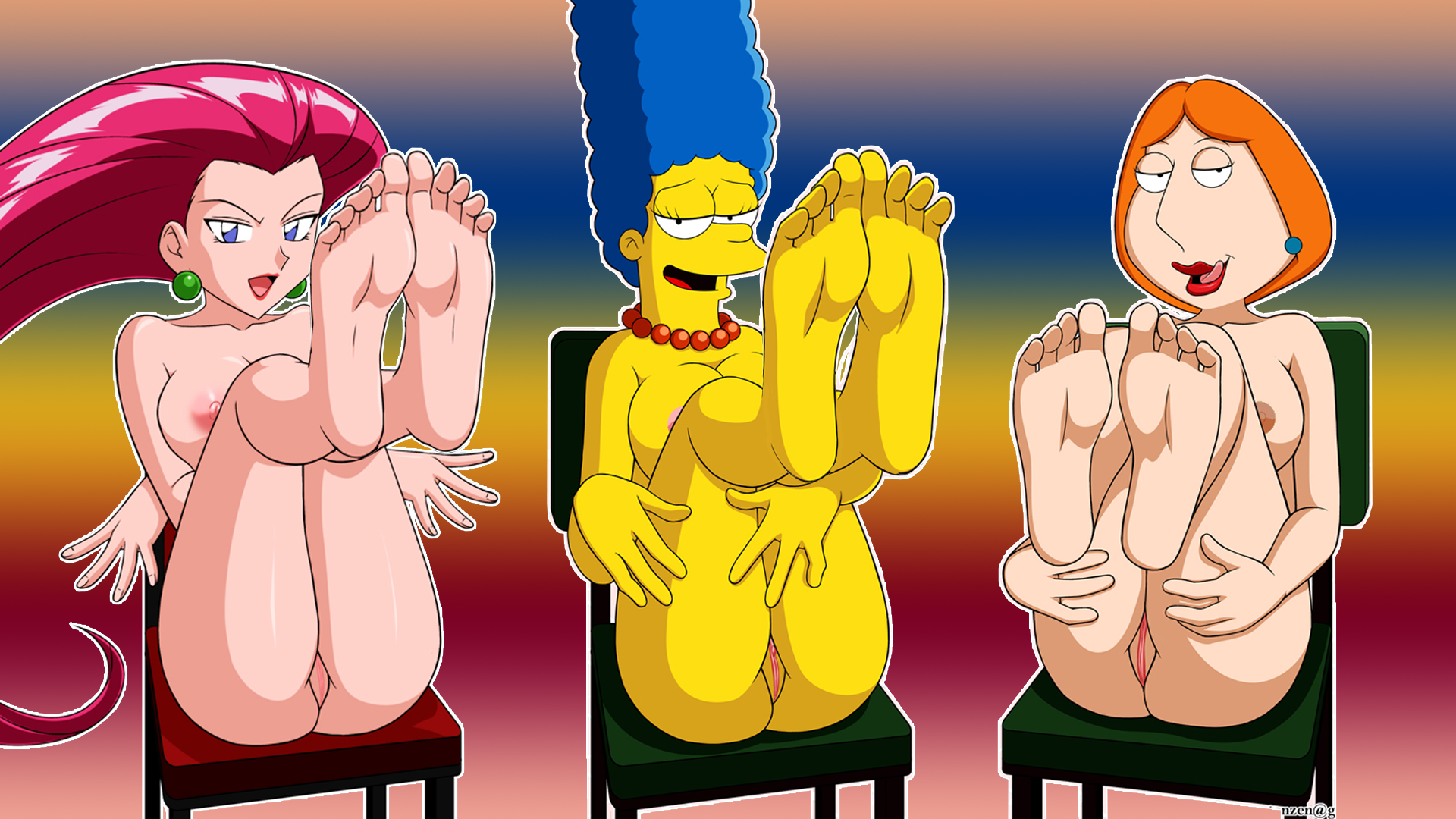 family guy and simpsons porn