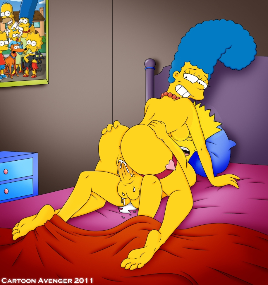 Eating bart simpson naked xxx mouth